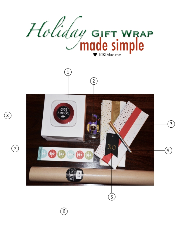 holiday wrap guide