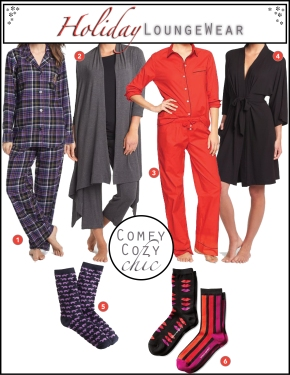 Chic Christmas Loungewear