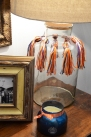 tassels on the lamp
