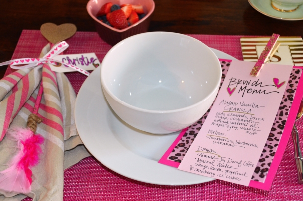 Galentine Placesetting