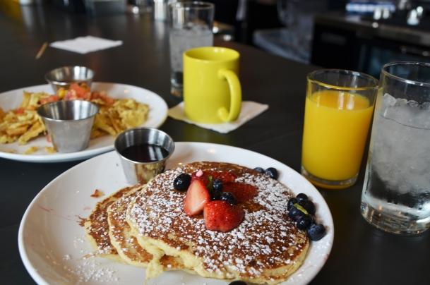 Dish breakfast