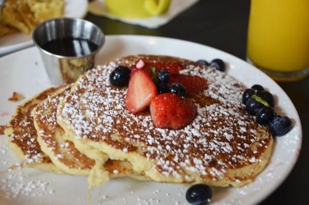Dish pancakes