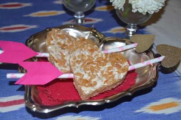 heart dessert