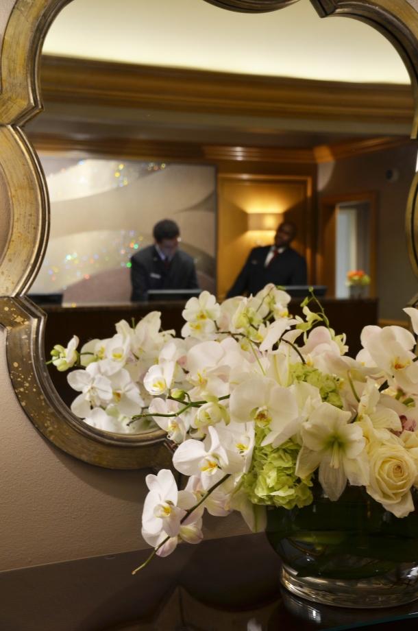 st regis flowers