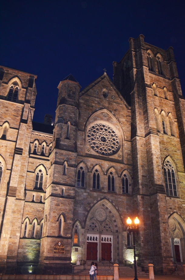 cathedral night