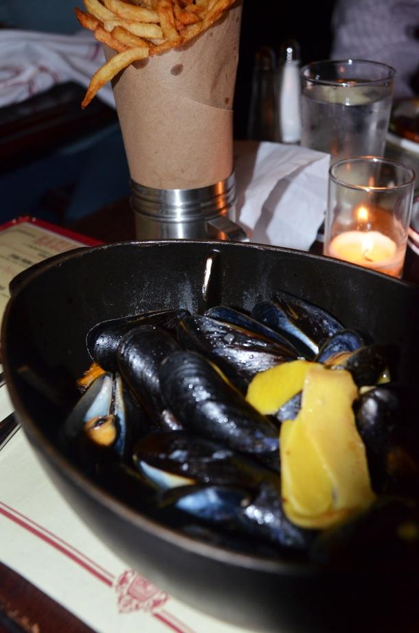 Gaslight mussels