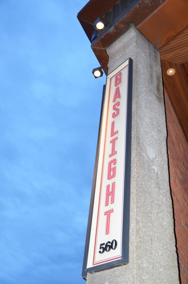 Gaslight sign