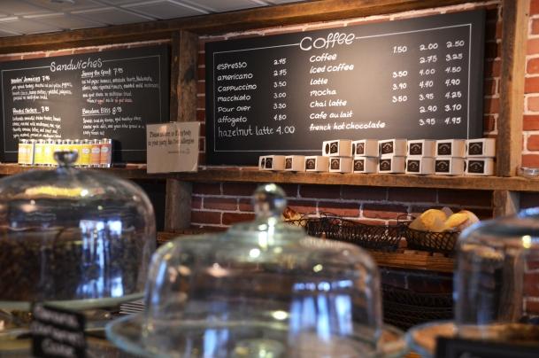 thinking cup menu