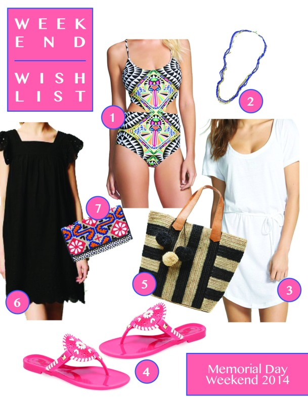 Memorial Day Weekend Wish List // KiKIMac.me