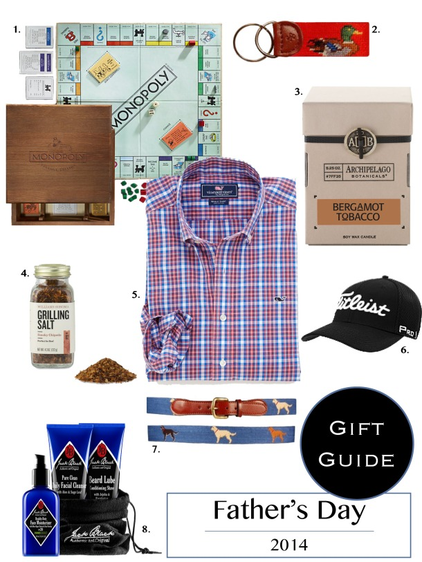 Father's Day Gift Guide// KiKiMac.me