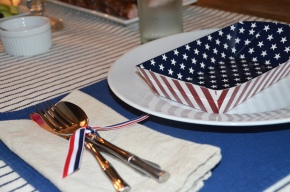 Memorial Day: Red, White + BlueTable